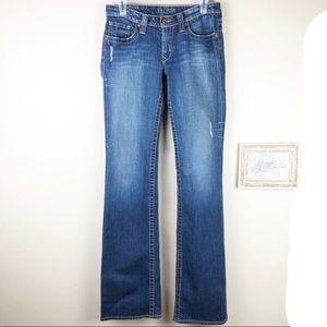 Big Star Casey Distressed Long Tall Jeans 27L